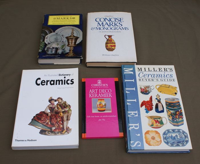 Divers - Books ceramics and marks (5) - Paper