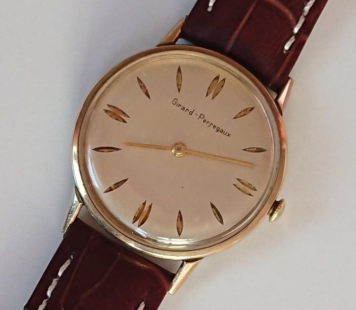 Girard-Perregaux - 10K Gold Filled - 2519604 - Uomo - 1960-1969