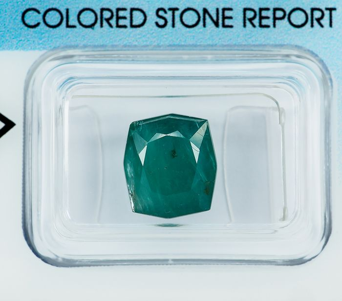 No Reserve - Green-Blue Grandidierite - 3.29 ct