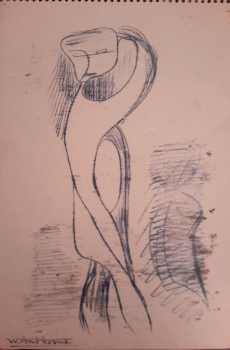 Willy Anthoons (1911-1982)  - Nu