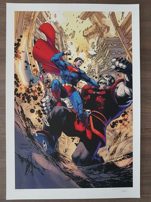 DC Action comics - Issue 1000 - Variant cover - Color proof print - Sinclair, Alex - EO (2018)