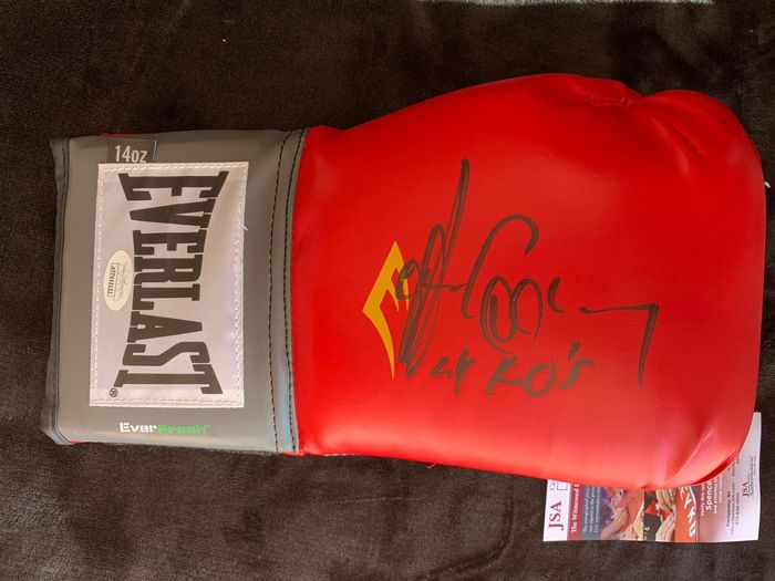 Gerry Cooney firmado a mano - Boxing glove