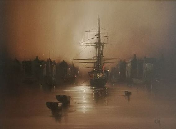 Barry Hilton - Harbour scene