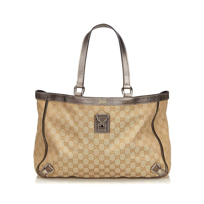 Gucci - GG Canvas Abbey D-Ring Tote Bag Tote bag
