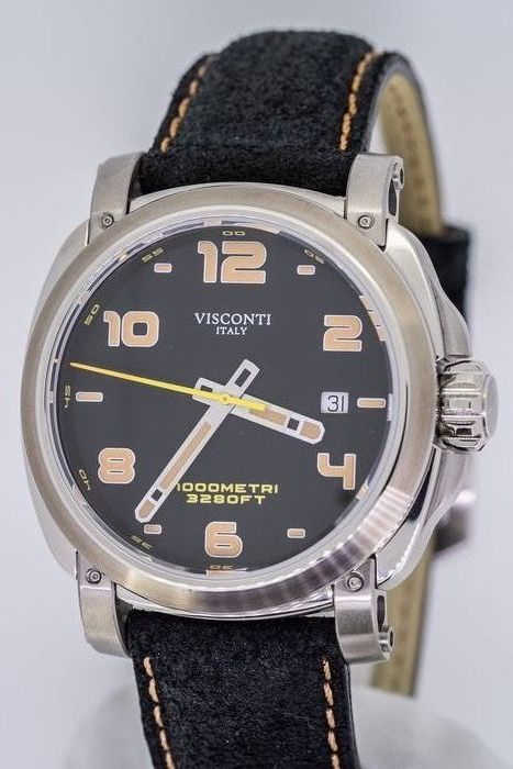 "Visconti - Automatic Watch Majorca Stainless Steel ""NO RESERVE PRICE"" - KW30-01 - Men - BRAND NEW"