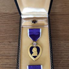 United States - WW2 period purple heart (full set) in excellent condition