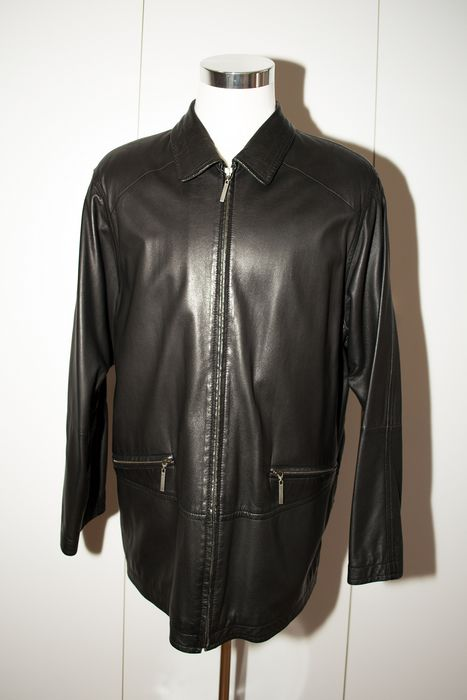 Burberry - Leather jacket - Size: EU 52