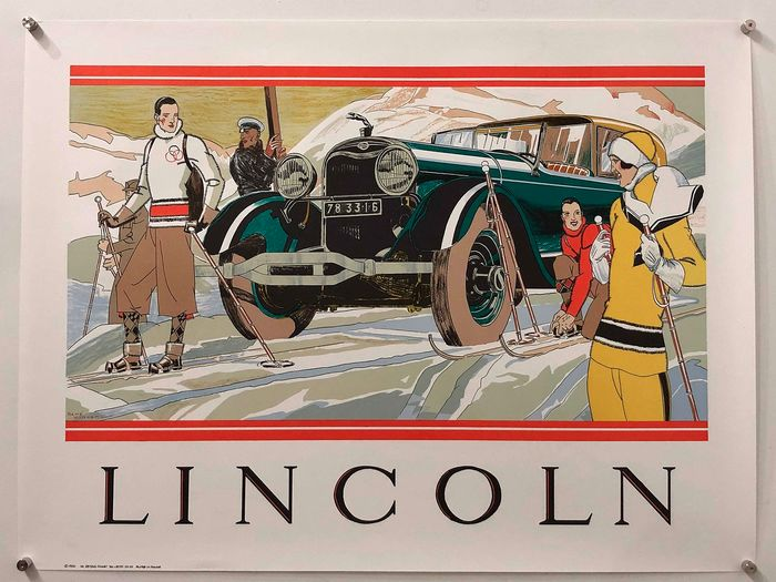 René Vincent - Lincoln (ca. 1930) - 1990