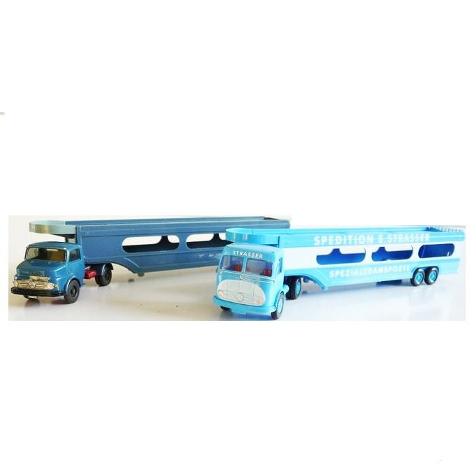 """Wiking 1:87 - Model cars - 12 """"Special transport"""" including car transport wagons"""