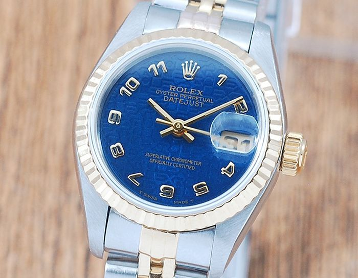Rolex - Oyster Perpetual DateJust - 69173 - Women - 1980-1989