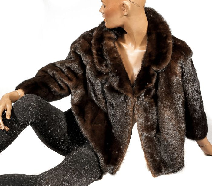 moderne wunderschöne Nerzjacke - Fur, Mink fur - Jacket - Made in: Germany