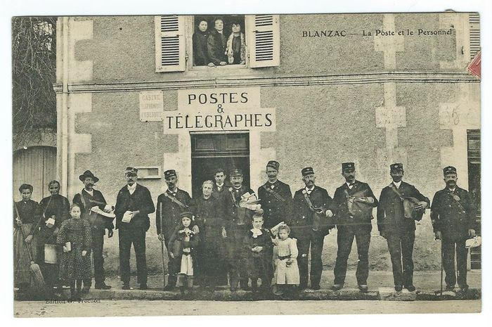 9 postcards of France of great value department (16) Charente postal card Rare unique - 1900-1910