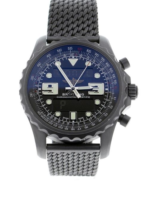 Breitling - Chronospace Blacksteel Limited Edition 1000 Pieces - M7836522/BA26 - Unisex - 2013