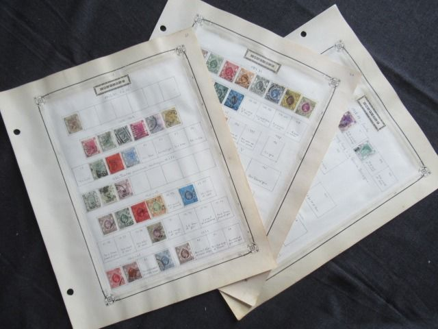 Former British colonies - Hong Kong, advanced collection of stamps
