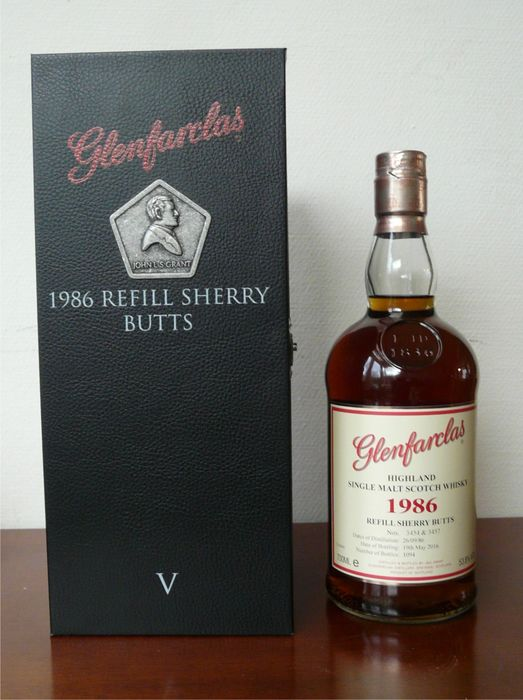 Glenfarclas 1986 - 2016 Family Collector Series Refill Sherry Butts - 70cl