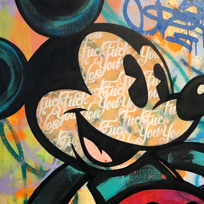 Dillon Boy - Classic Mickey Mouse F YOU
