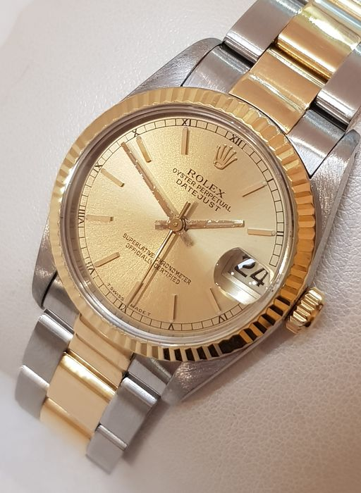 Rolex - Oyster Perpetual DateJust - 68273 - Women - 1990