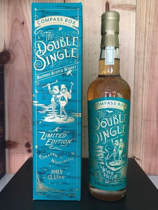 Compass Box Double Single Limited Edition - b. 2017 - 70cl