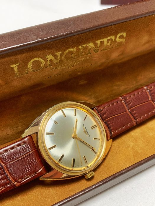 """Longines - Cal. 284 - """"NO RESERVE PRICE"""" - Homme - 1970-1979"""