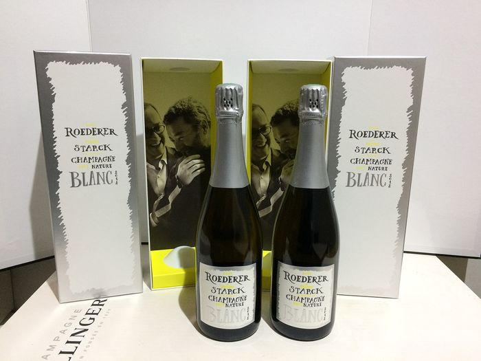 2012 Louis Roederer by Stark Blanc  - Champagne Brut Nature - 2 Bouteilles (0,75 L)