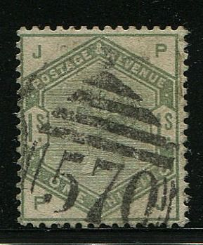Great Britain - England 1883 - 1 shilling dull green - Stanley Gibbons 196