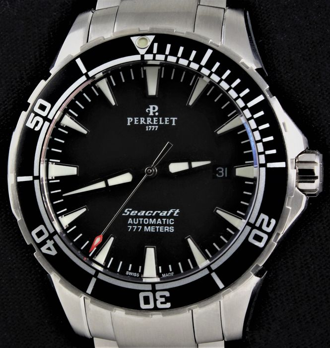 Perrelet - Seacraft - Swiss Exclusive Automatic - Ref. No: A1053/A0630 - Excellent Condition - Warranty - Herren - 2011-heute