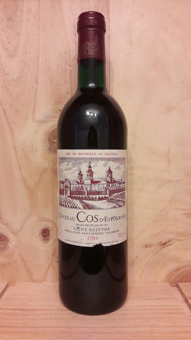 1984 Chateau Cos D'Estournel  - Saint-Estèphe 2éme Grand Cru Classé - 1 Bottle (0.75L)