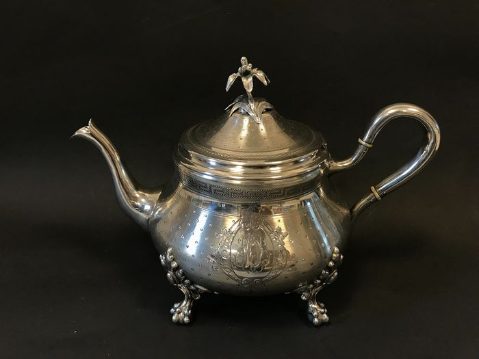 Coffee pot (1) - .950 silver - France - Late 19th century