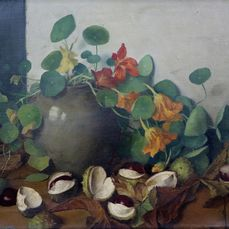 Gerrit David Labots (1869-1959)  - East Indian cherries and chestnuts