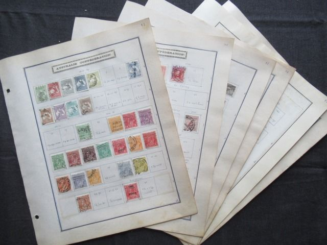 Former British colonies - Australia, collection of stamps