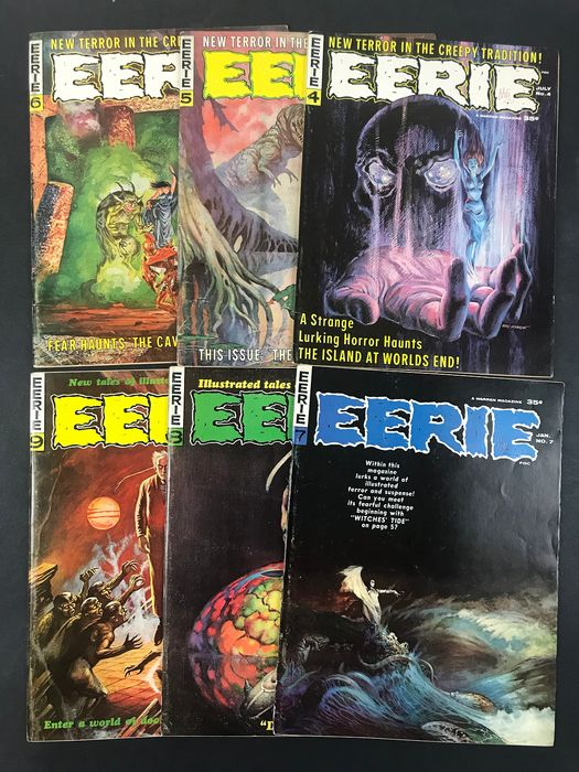 Eerie #4/21 - 14x Issue. High Grade!!! - First edition - (1966/1968)