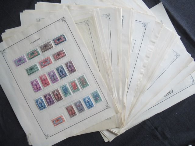 Former French colonies - Significant collection of stamps