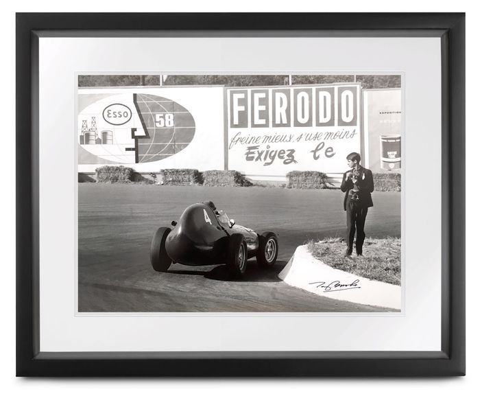Vanwall - Formula One - Tony Brooks - 1958 - Photograph