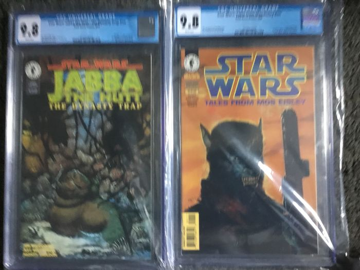 Star Wars  Jabba The Hutt #NN Tales from Mos Eisley #NN - CGC high graded 9.8 - Softcover - Erstausgabe - (1995/1996)
