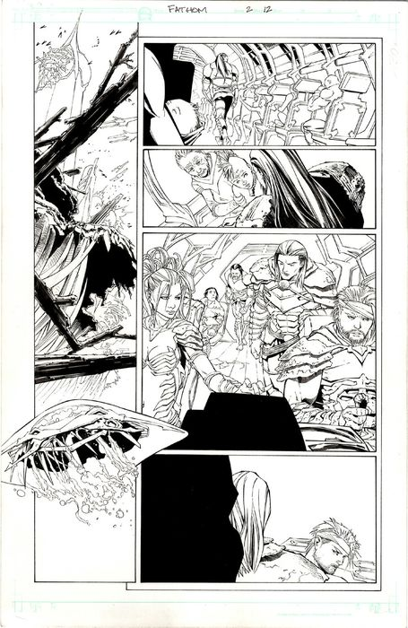Fathom 2 - Koi Turnbull - Original Comic Art Page - Andere - (2005)