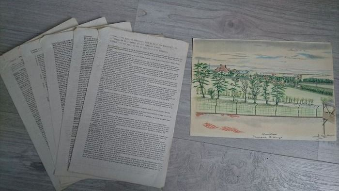 Germany - Unique Illegally distributed Dutch Stanislau Prisoner Camp Reports - POW - - 1942