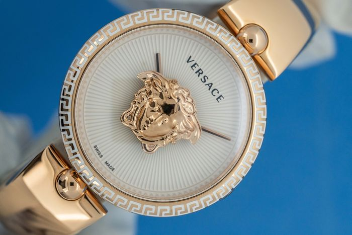 Versace - Palazzo Empire White Dial  Rose Gold Swiss Made - VCO110017  - Unisex - Brand New