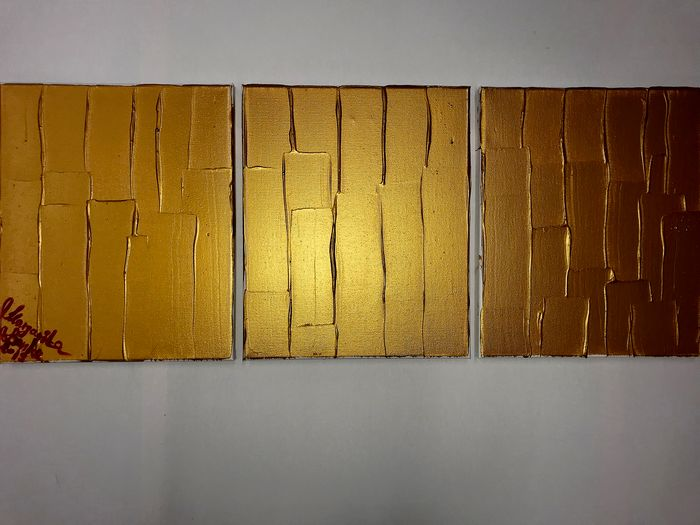 Margarita Bonke  - Triptych Gold connect