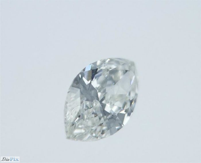 1 pcs Diamant - 0.44 ct - Marquise - F - SI1