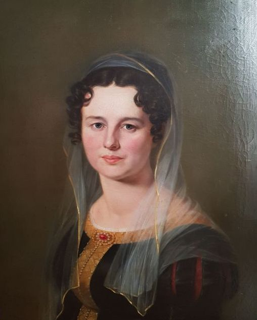 Austrian Painter - woman portrait