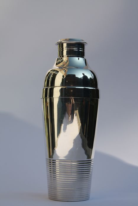 Lanel Luc - Art Deco Shaker, Christofle Gallia 1935 - Art Deco - Verzilverd