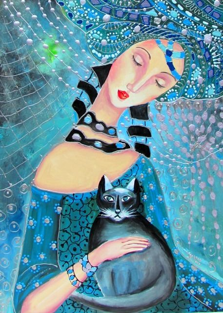 B.Tóth Irisz - Theodora queen and cat