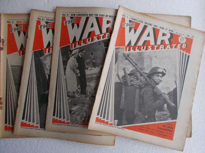 "United Kingdom - WW2 ""The War Illustrated"" x14 photo-magazine"