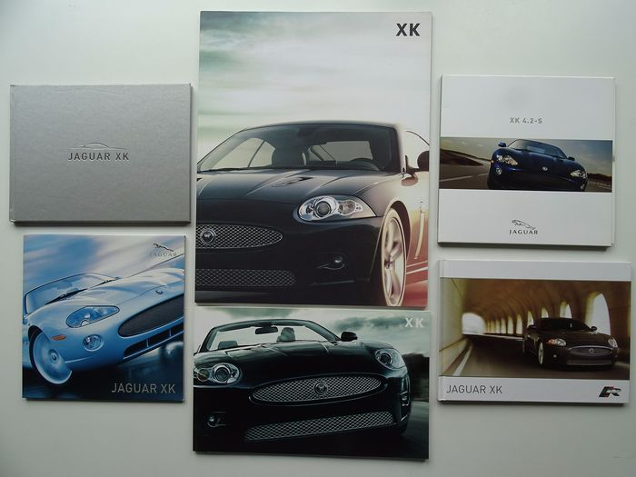 Brochures / Catalogues - JAGUAR - XK / XKR Coupé & Convertible - 2003-2006