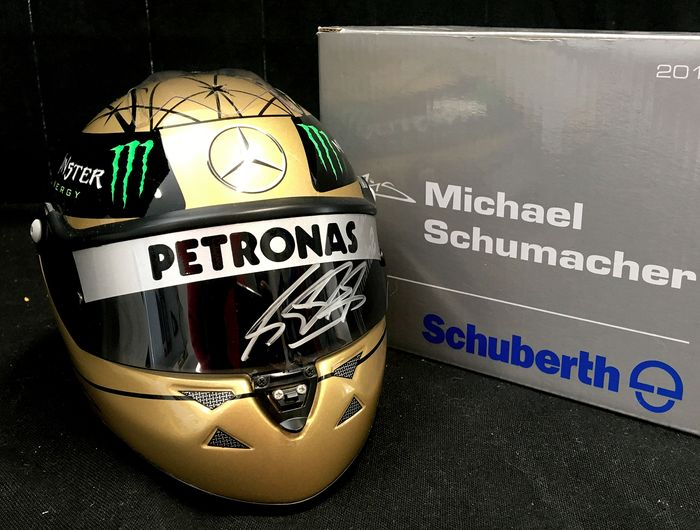 Mercedes - Formula One - Michael Schumacher - 1/2 Scale Helmet