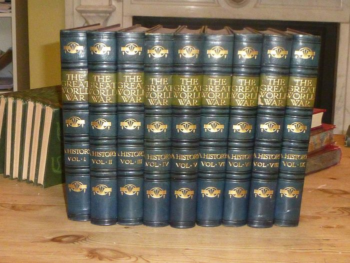 David Hannay - The great war: 9 volume set - 1920