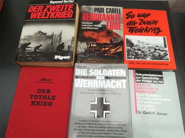 Germany - History, campaigns, dates, photos - Book, 6x World War II, Russia, Wehrmacht