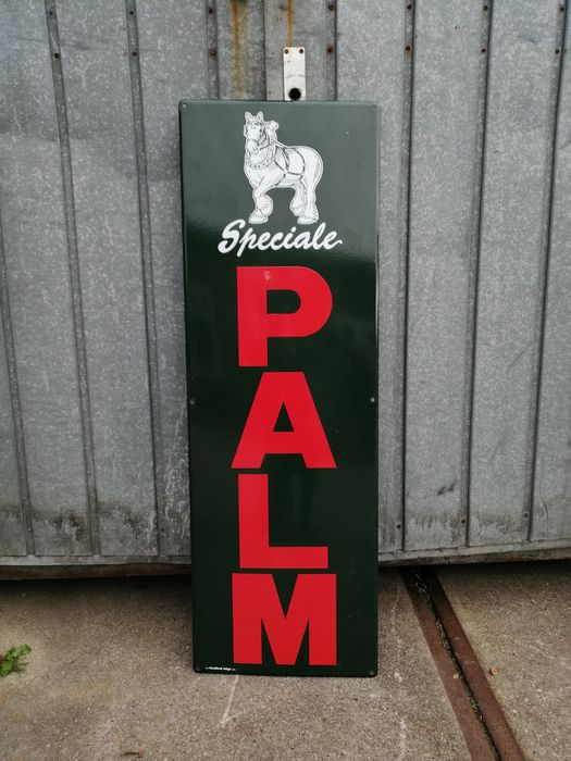 Speciale Palm - Medium Advertising Board / Billboard (1) - Emaille