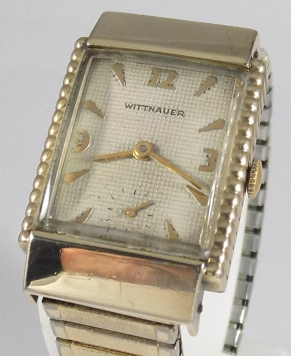 Wittnauer - Art-Deco - Rectangular - Cal. Revue 84/1 - Men - 1940