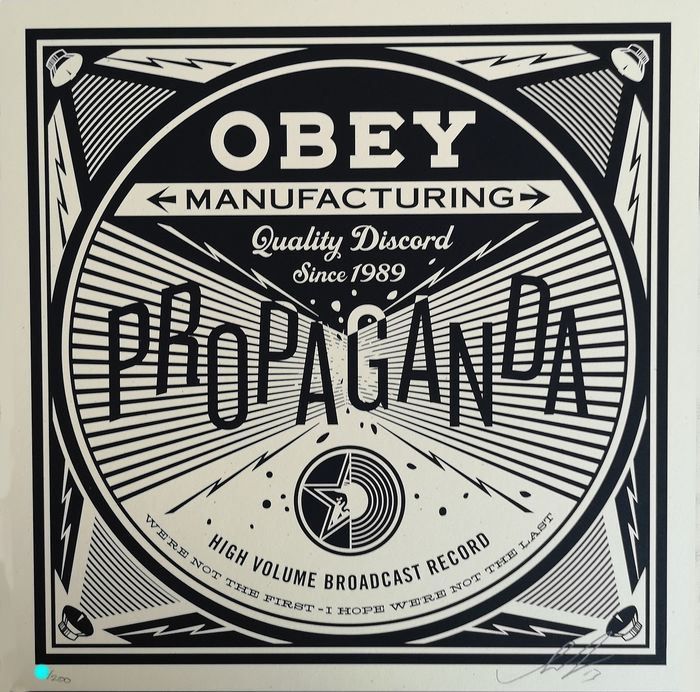 Shepard Fairey (Obey) - Quality Discord